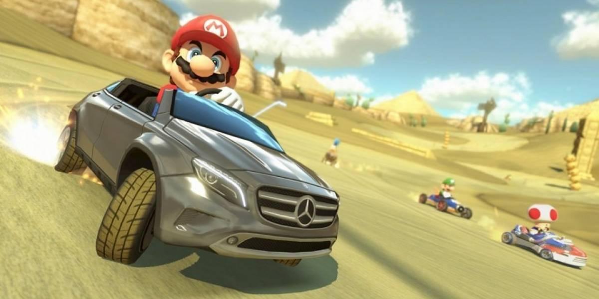 El Mercedes Benz GLA llegará también a Mario Kart 8 en América y Europa