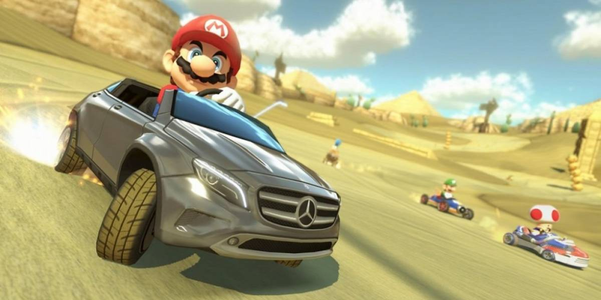 Mercedes se une a Nintendo para promover su modelo GLA