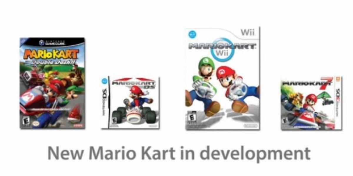 Nintendo prepara un Mario Kart y un Mario tridimensional para Wii U
