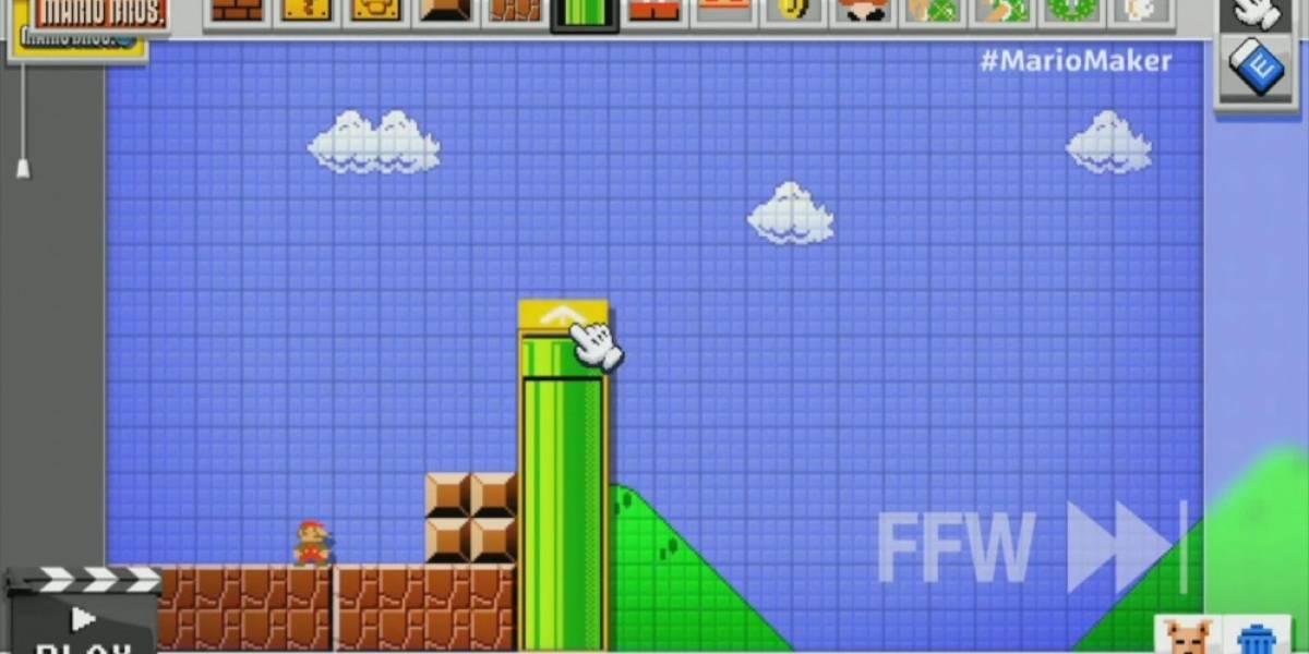 Mario Maker es lo más cerca que estarás de diseñar un juego de Mario #E32014