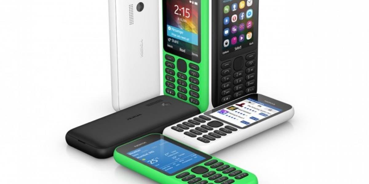 Nokia 215 es un teléfono muy barato y con capacidades sociales