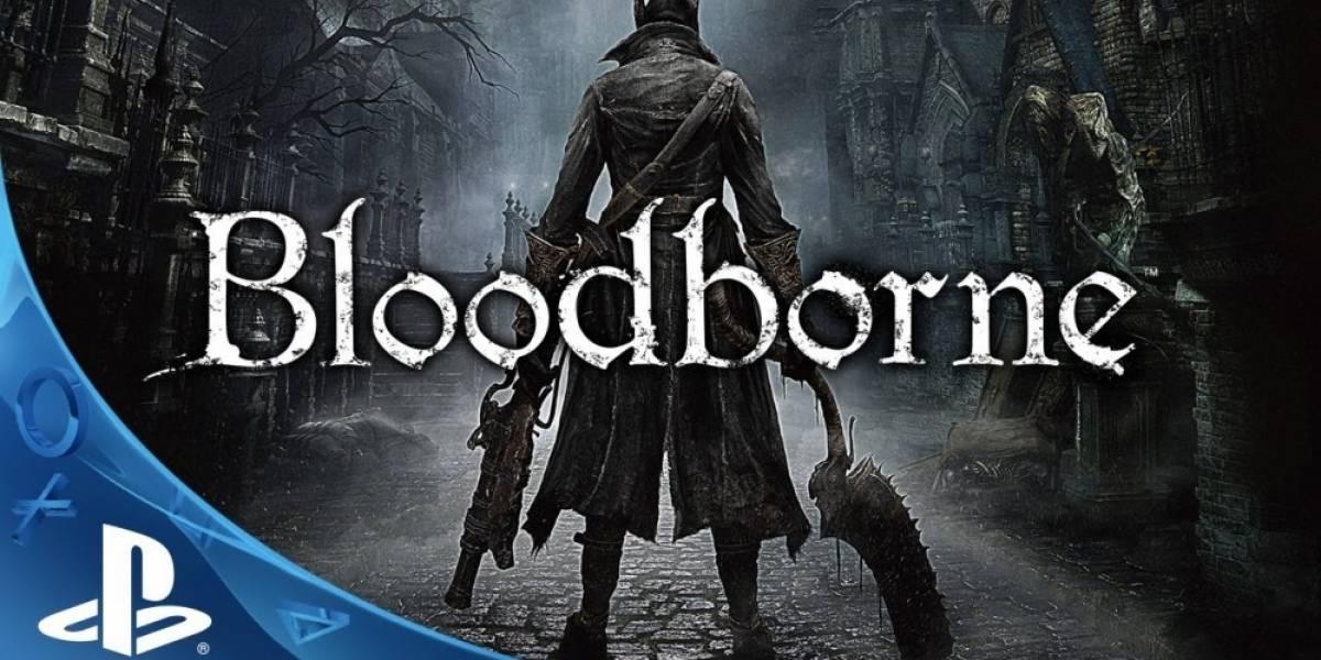 Un minuto de Bloodborne en acción #E32014