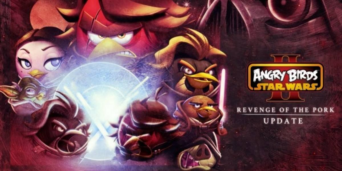 Angry Birds Star Wars II recibe actualización gratuita