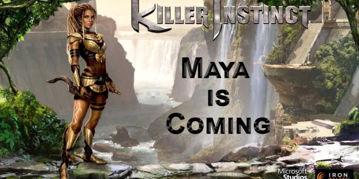 Maya llegará en la segunda temporada de Killer Instinct