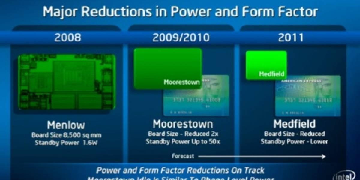 Intel cree que derrotará pronto a ARM en consumo energético