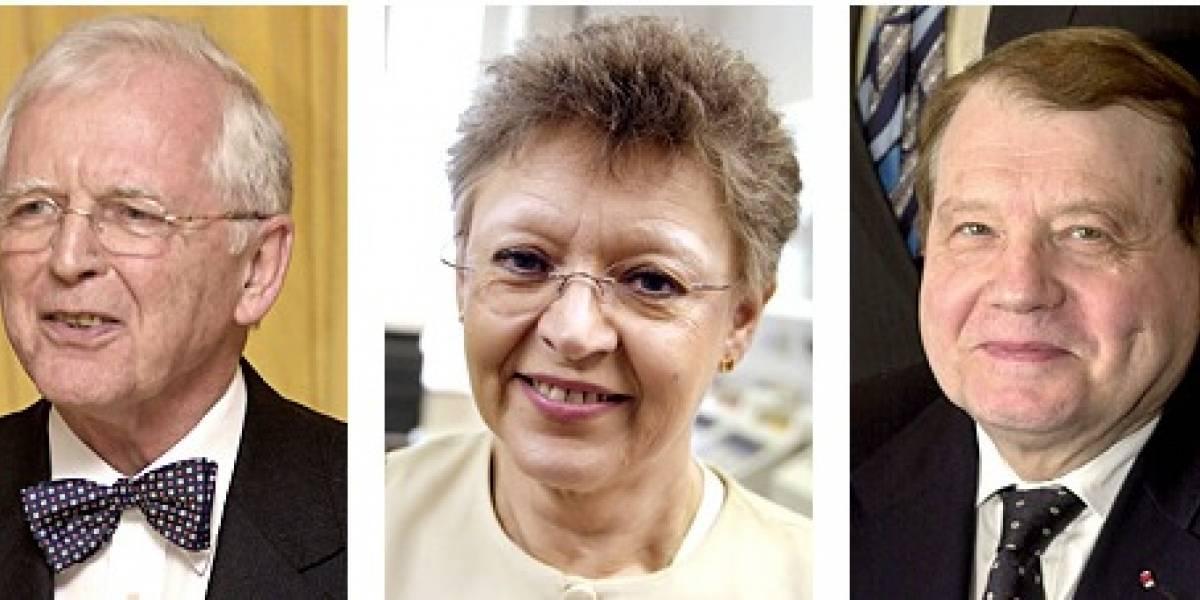 Anuncian ganadores del Premio Nobel de Medicina 2008