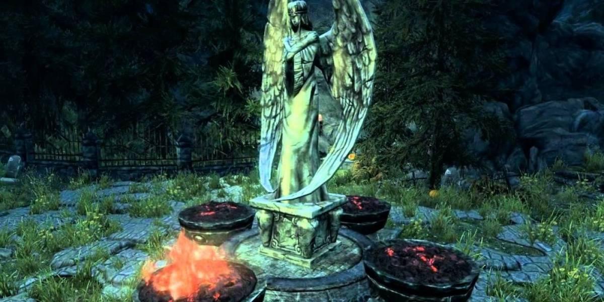 Modder crea remake de MediEvil usando mods de Skyrim