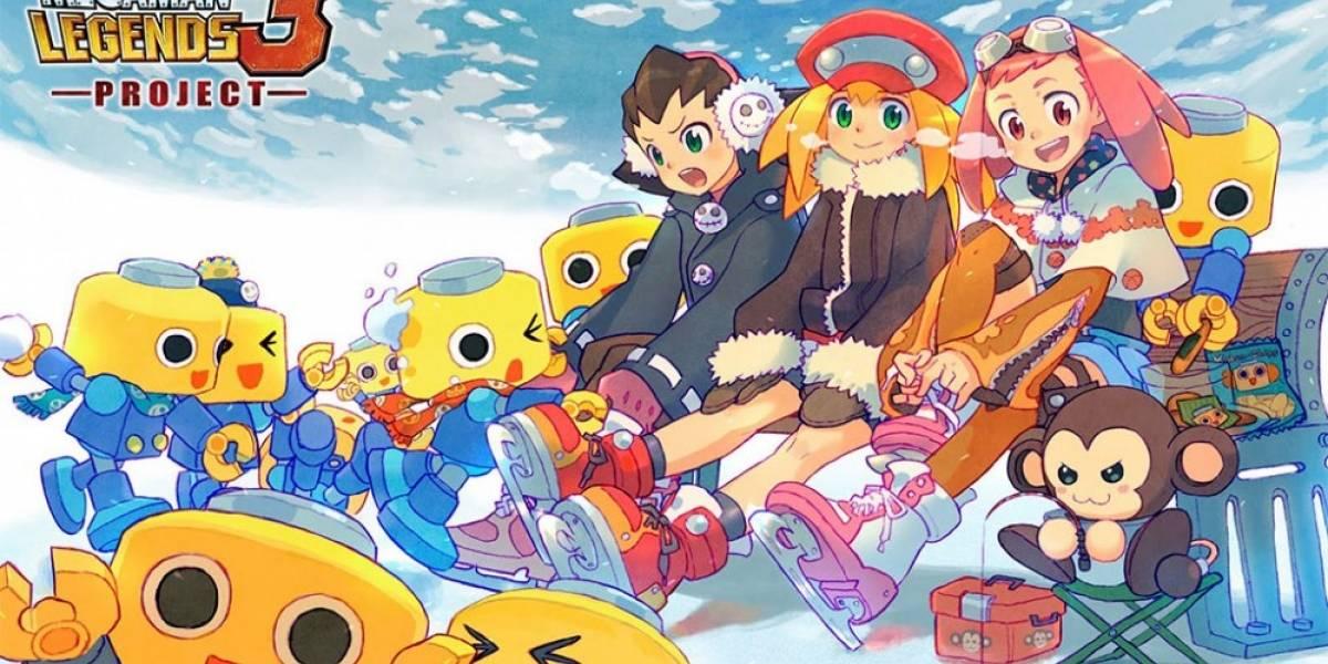 Fanáticos desarrollan un prototipo de Mega Man Legends 3 para PC