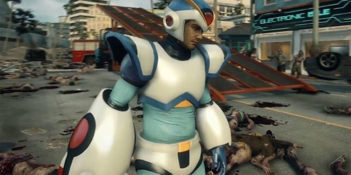 Confirman traje y arma de Mega Man X para Dead Rising 3