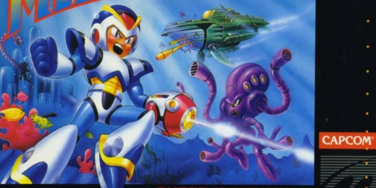 Mega Man X se lanzará en la consola virtual de Wii U