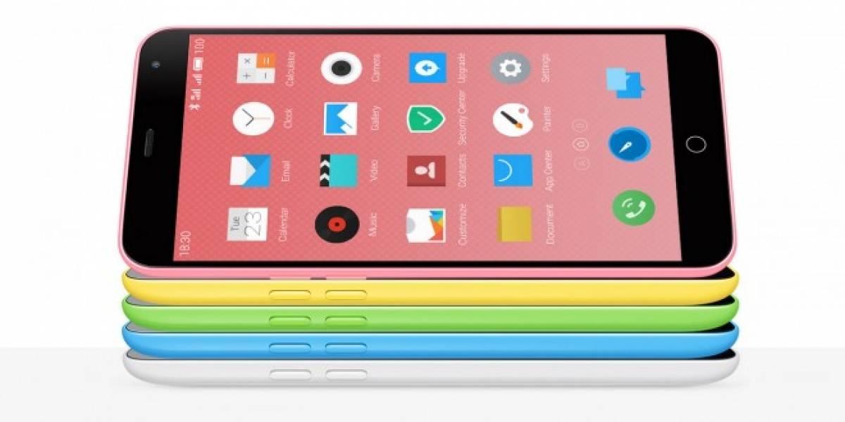 Meizu m1 note: un teléfono bueno, bonito y barato