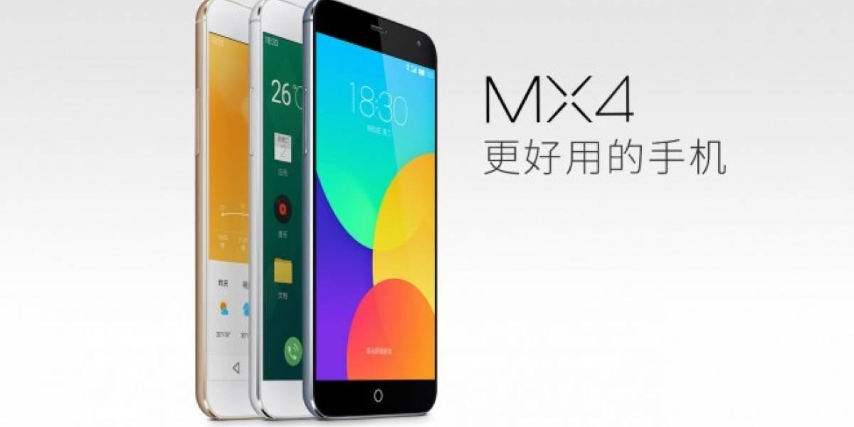 Meizu MX4 fue el mejor teléfono con Android del 2014, según AnTuTu
