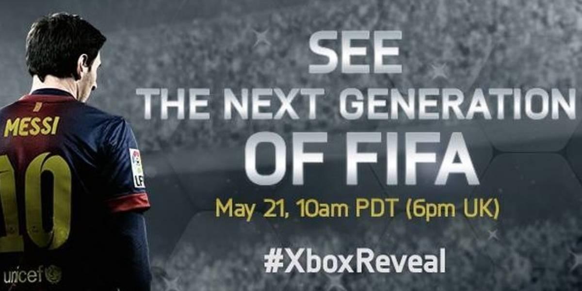 La nueva generación de FIFA se mostrará mañana en el evento de Xbox