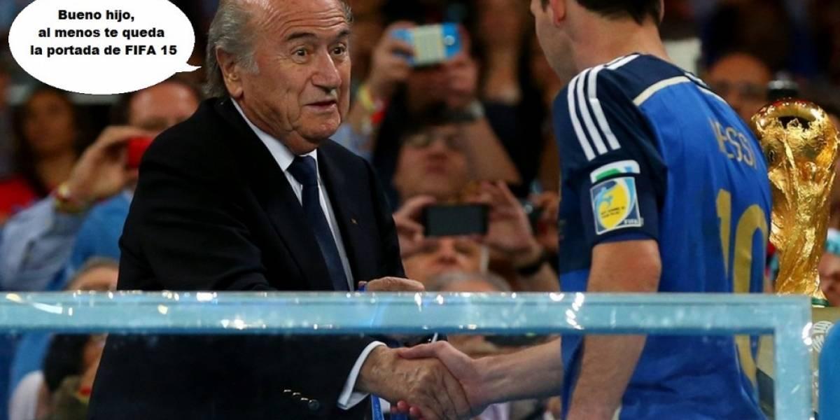 Messi repite portada en FIFA 15