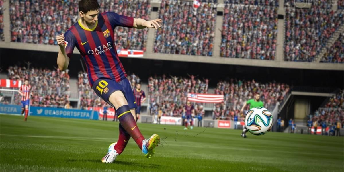 Las nuevas opciones de FIFA 15 en muchos videos