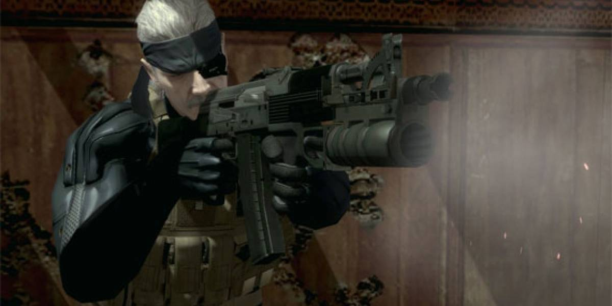 Sony anuncia Metal Gear Solid 4 para PS3