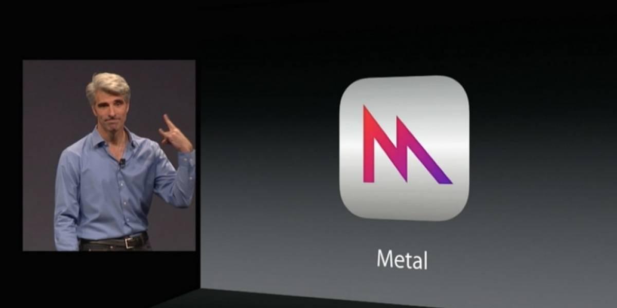 Apple anuncia Metal en #WWDC2014, optimizará gráficos de juegos en iOS 8
