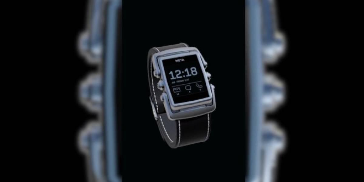 MetaWatch, el reloj inteligente con estilo #CES2014