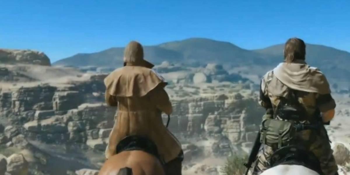 Nuevo tráiler con jugabilidad de Metal Gear Solid V: The Phantom Pain #E3