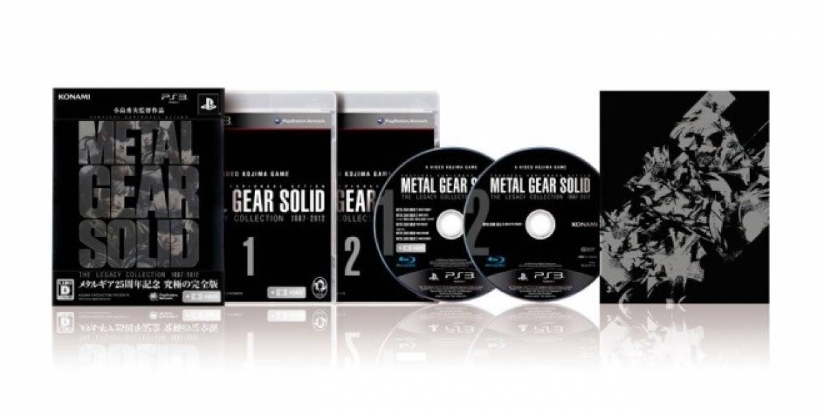 Metal Gear Solid: The Legacy Collection ya cuenta con carátula final y precio en Japón