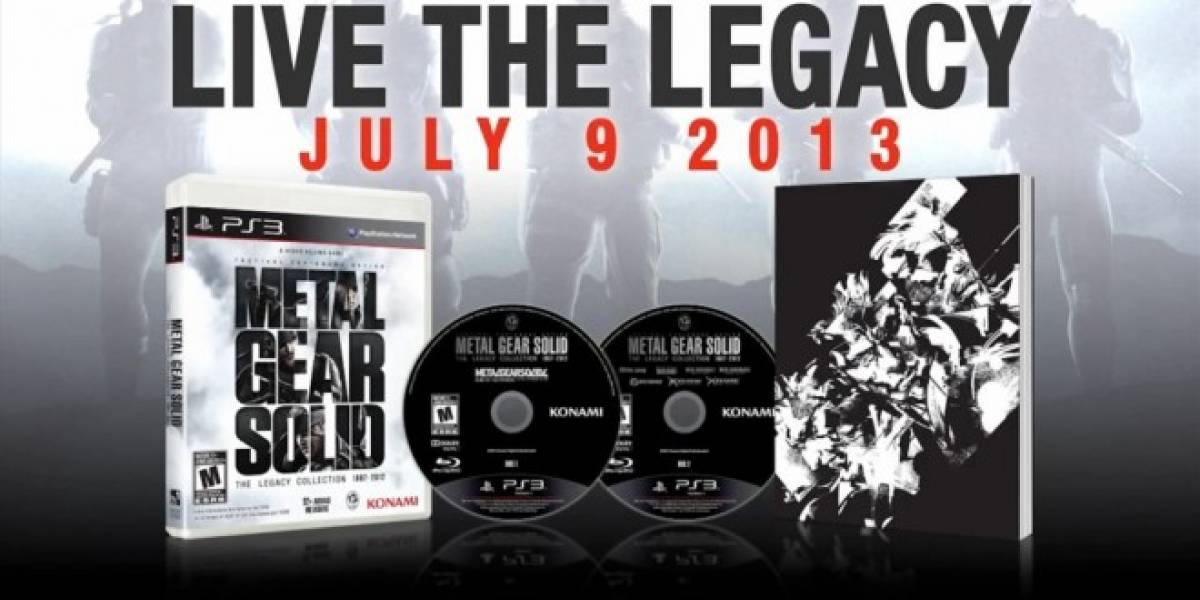 Nuevo tráiler de Metal Gear Solid: The Legacy Collection