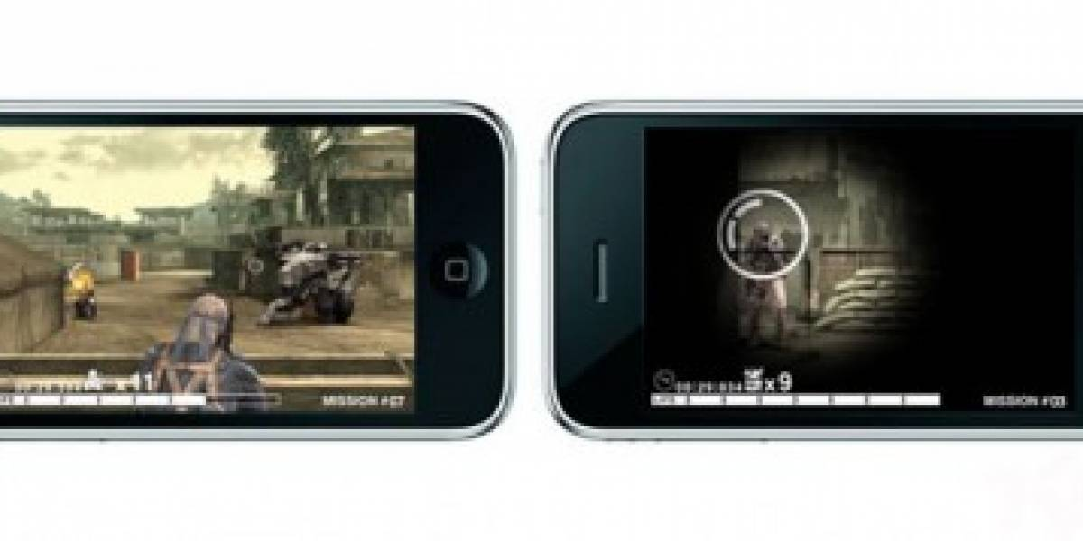 Confirmado Metal Gear Solid Touch para el iPhone