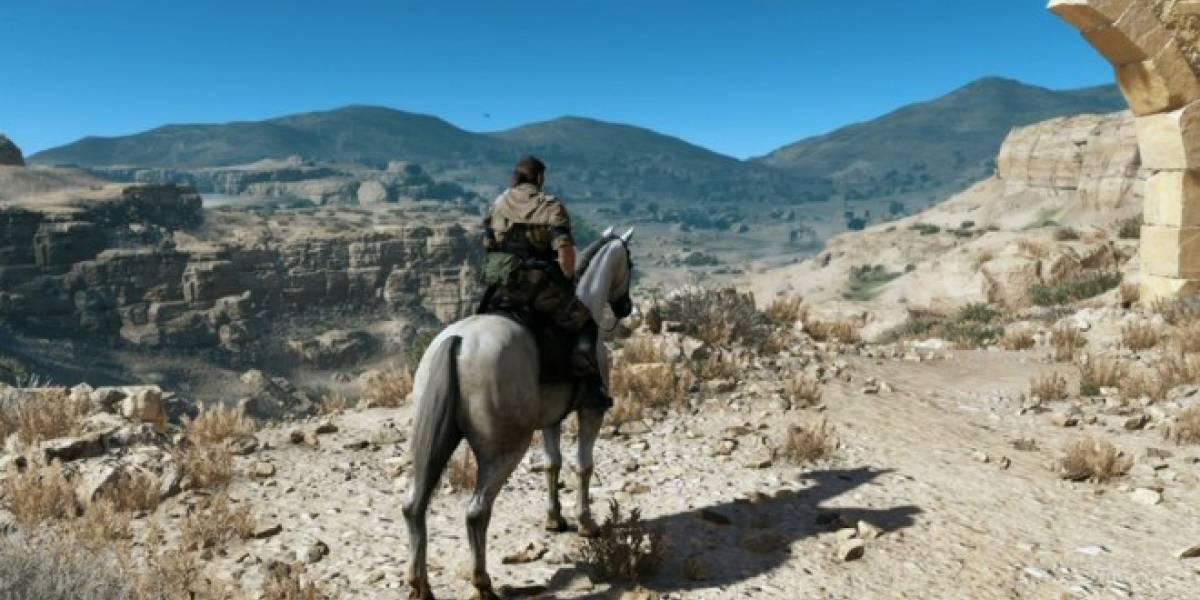 Kojima: Metal Gear Solid V en PS4 y Xbox One se verá mucho mejor que el tráiler de #E3
