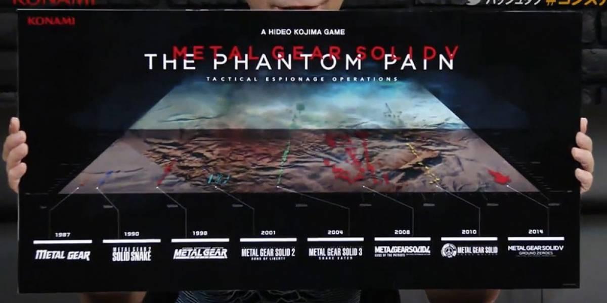 El mapa de The Phantom Pain será 200 veces más grande que el de Ground Zeroes