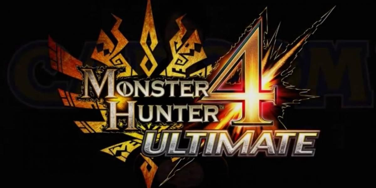 Monster Hunter 4 Ultimate llegará a 3DS el 2015