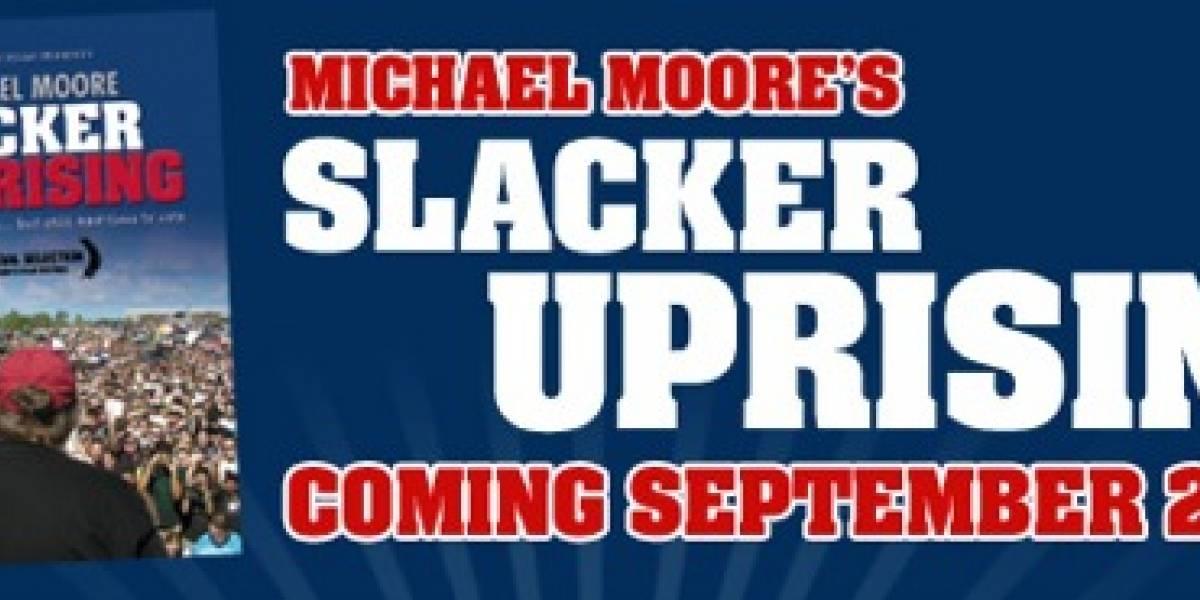 """Nueva película de Michael Moore """"Slacker Uprising"""" se distribuirá gratis por Internet"""