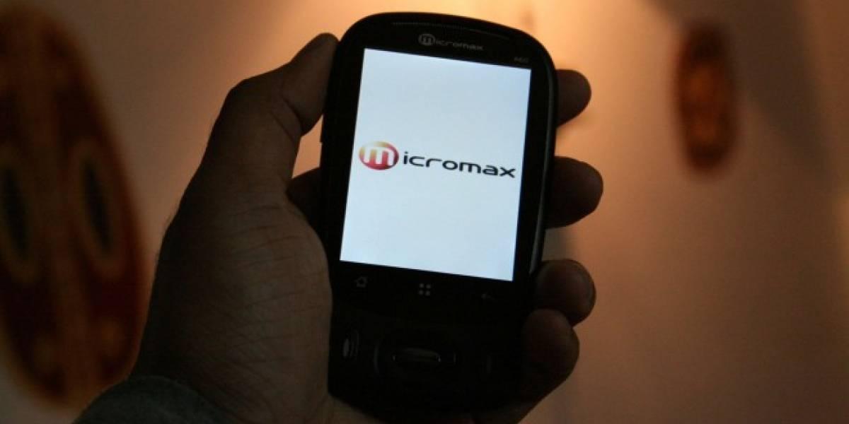 Samsung ahora es superado en India por Micromax