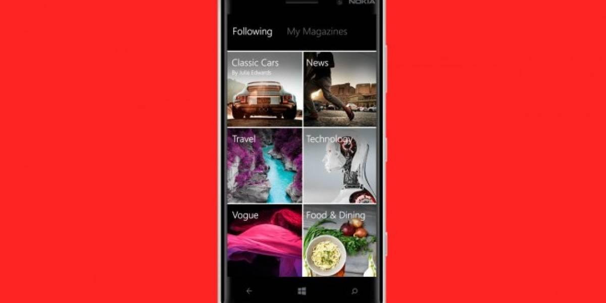 Flipboard llega oficialmente a Windows Phone