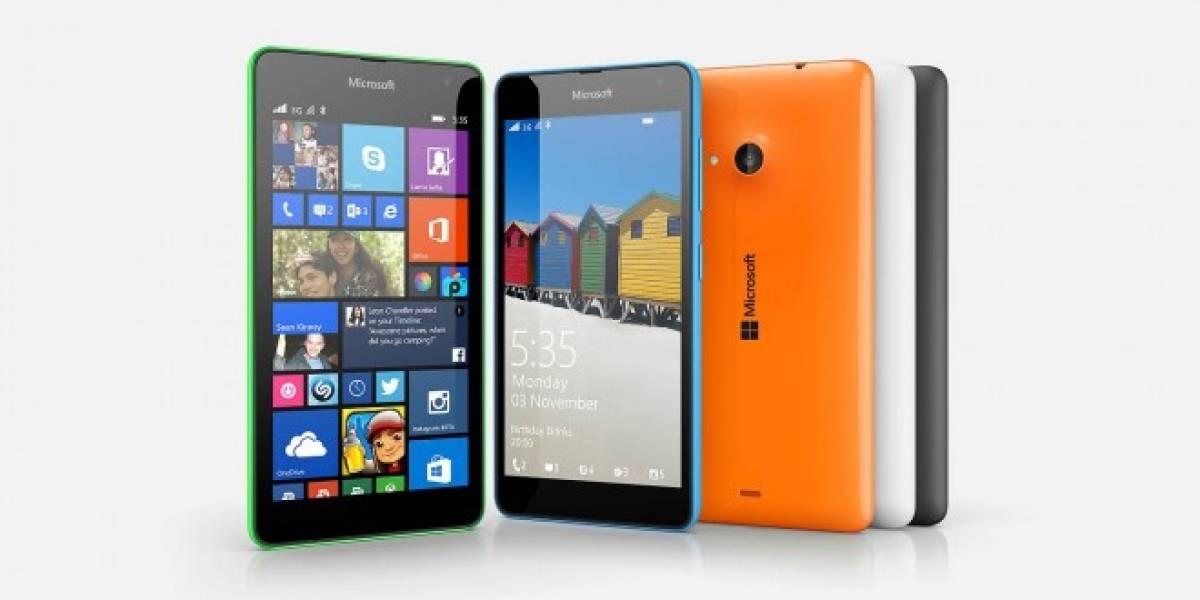 Microsoft Lumia 535 llega a México