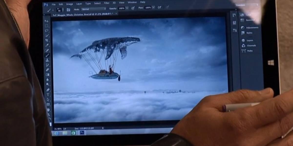 Adobe lanzará Photoshop CC adaptado para pantallas táctiles