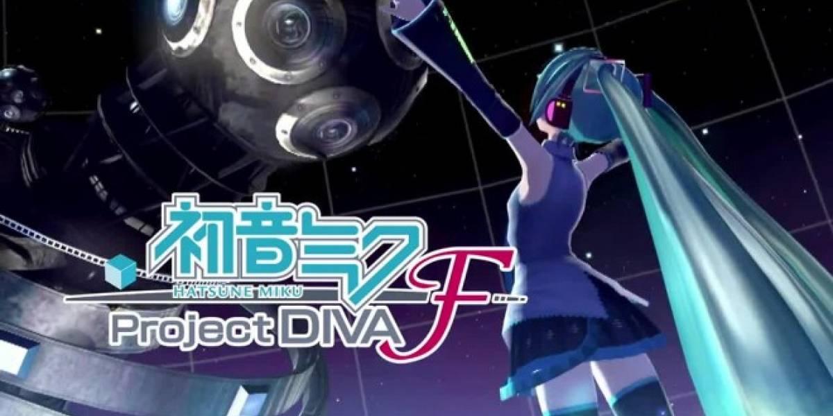 Sega anuncia que Hatsune Miku: Project DIVA F también llegará a occidente
