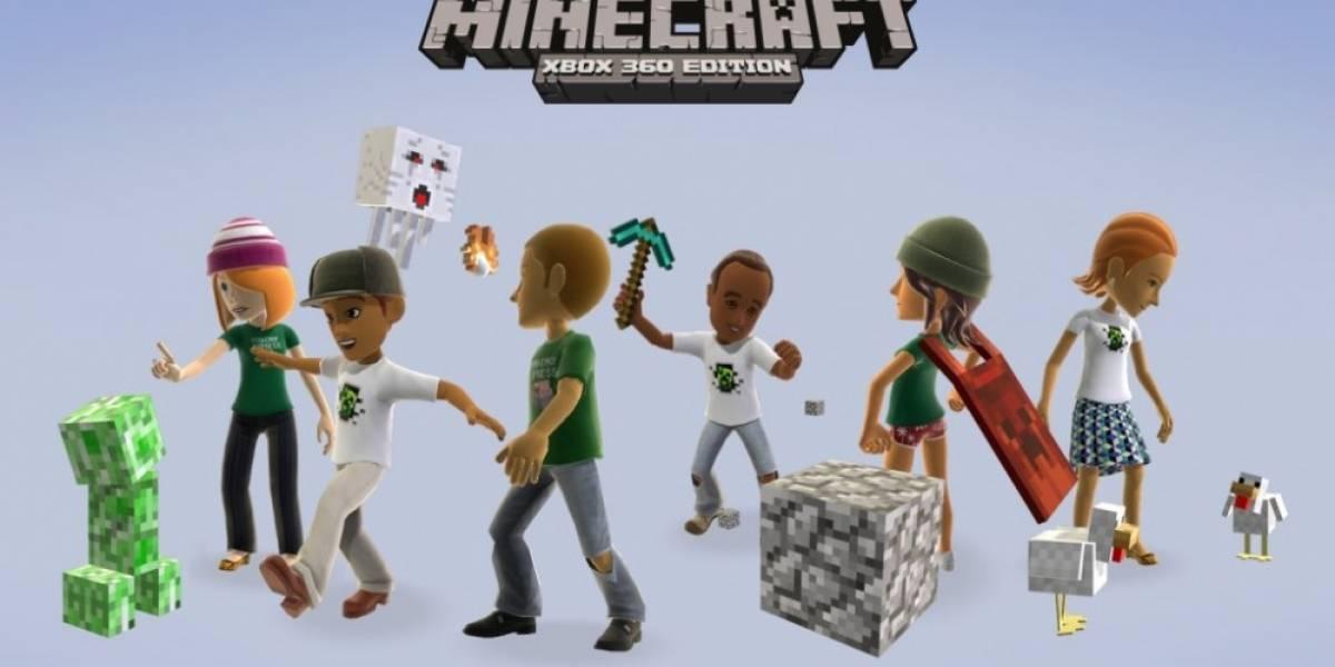 Minecraft: Xbox 360 Edition continúa vendiéndolo todo