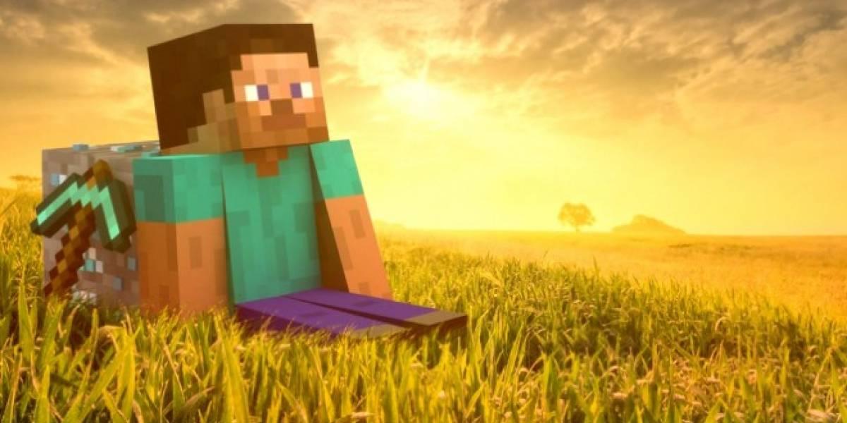 Minecraft 360 también logra gran éxito en formato físico