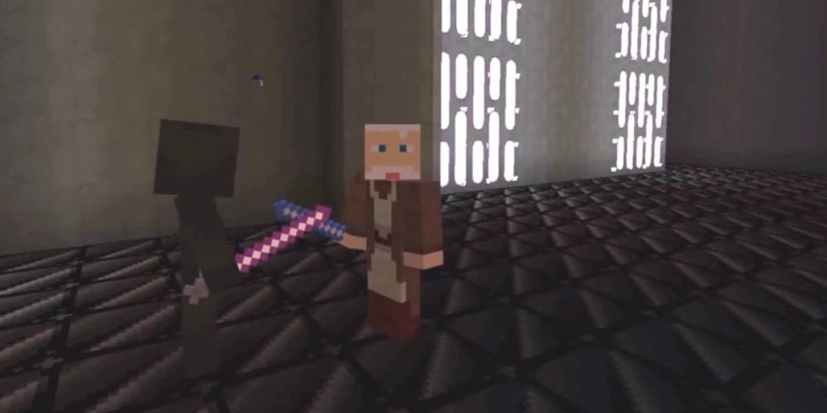 Así se ve el proyecto Minecraft Star Wars: A New Hope