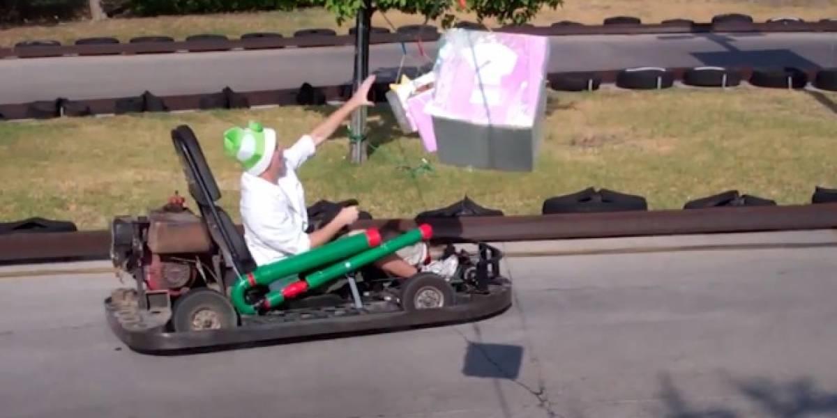 Mario Kart en la vida real es llevado al siguiente nivel
