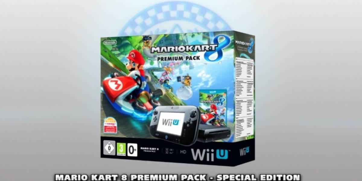 Europa tendrá edición especial de Wii U con Mario Kart 8