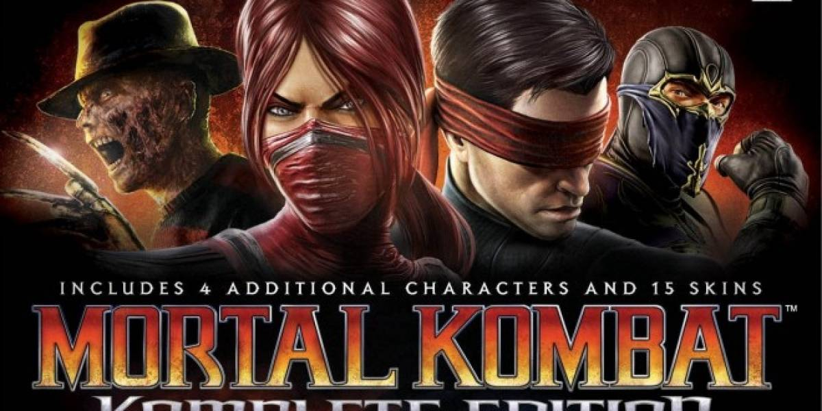 Mortal Kombat Komplete Edition ya está disponible en Steam