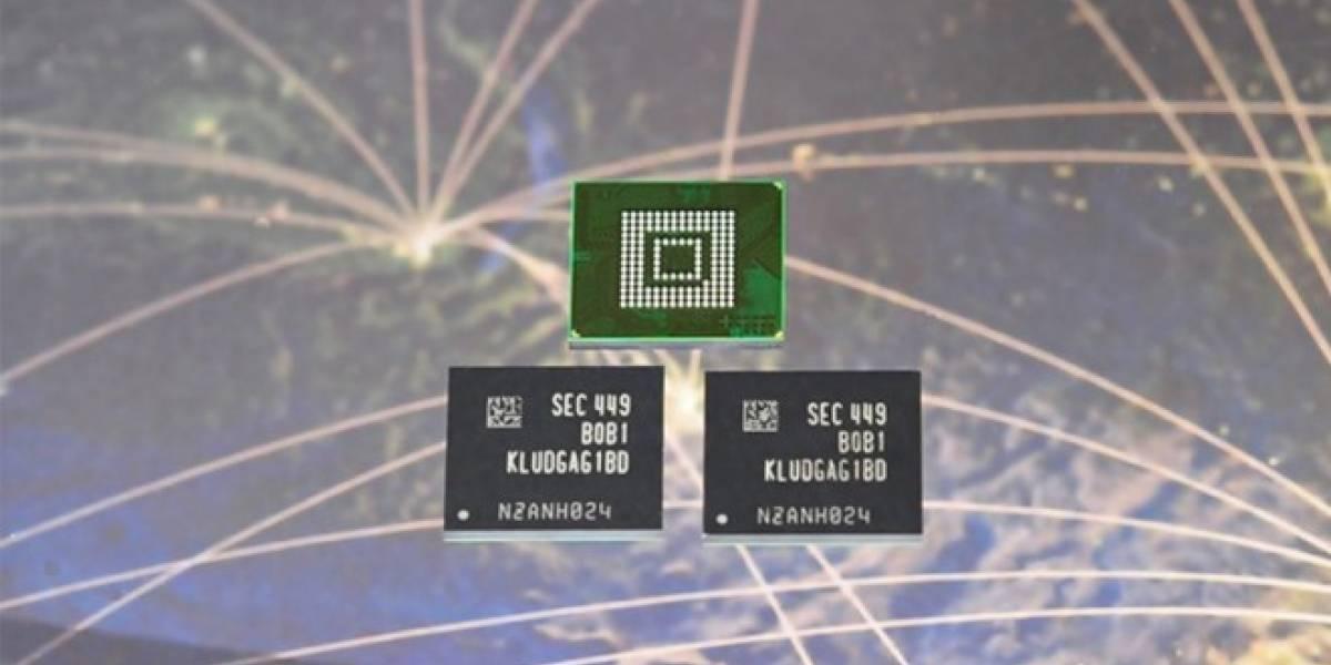 Samsung estrena memoria para móviles que es tan veloz como un SSD para PC