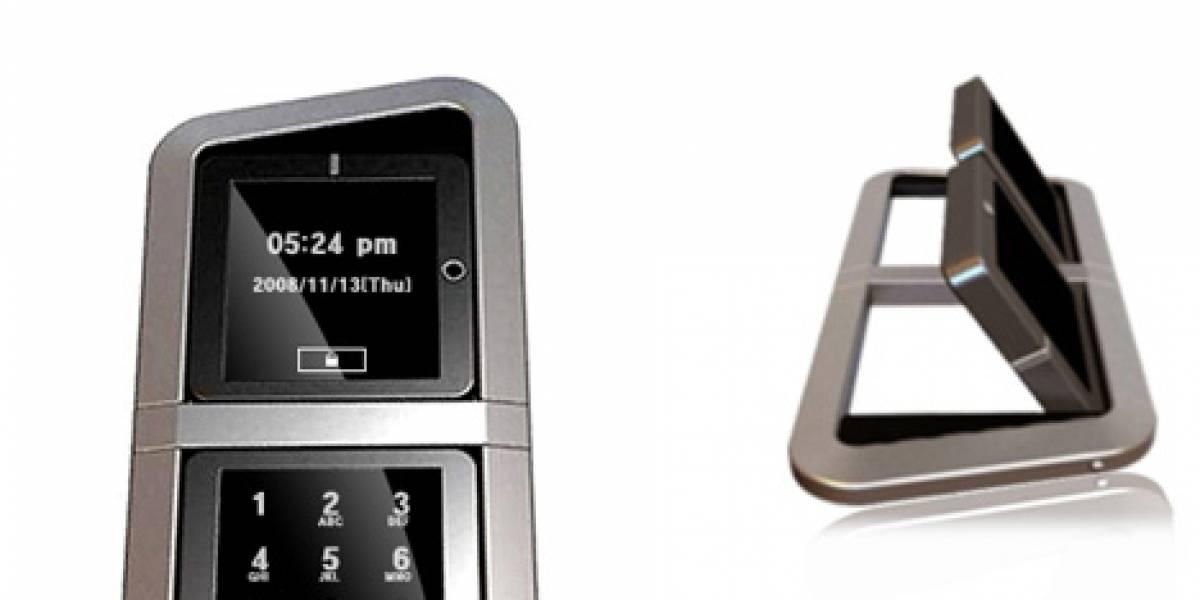 Concepto: Teléfono con dos pantallas táctiles