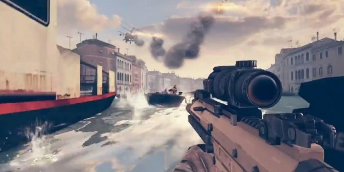 Gameloft presenta Modern Combat 5 #E3