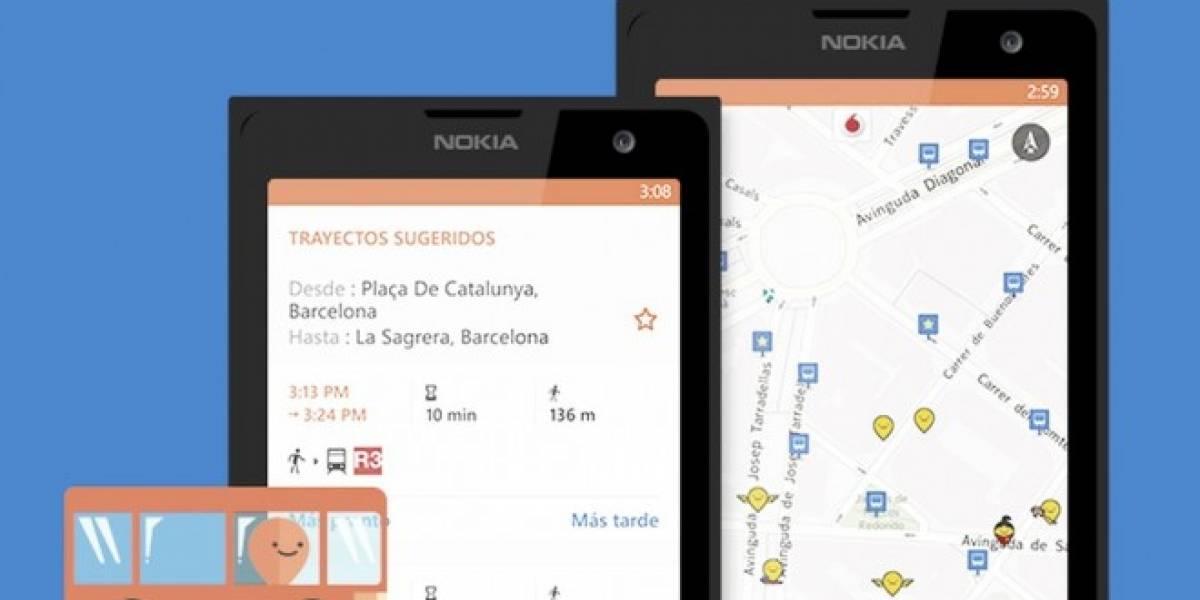 Moovit se lanza también en Windows Phone