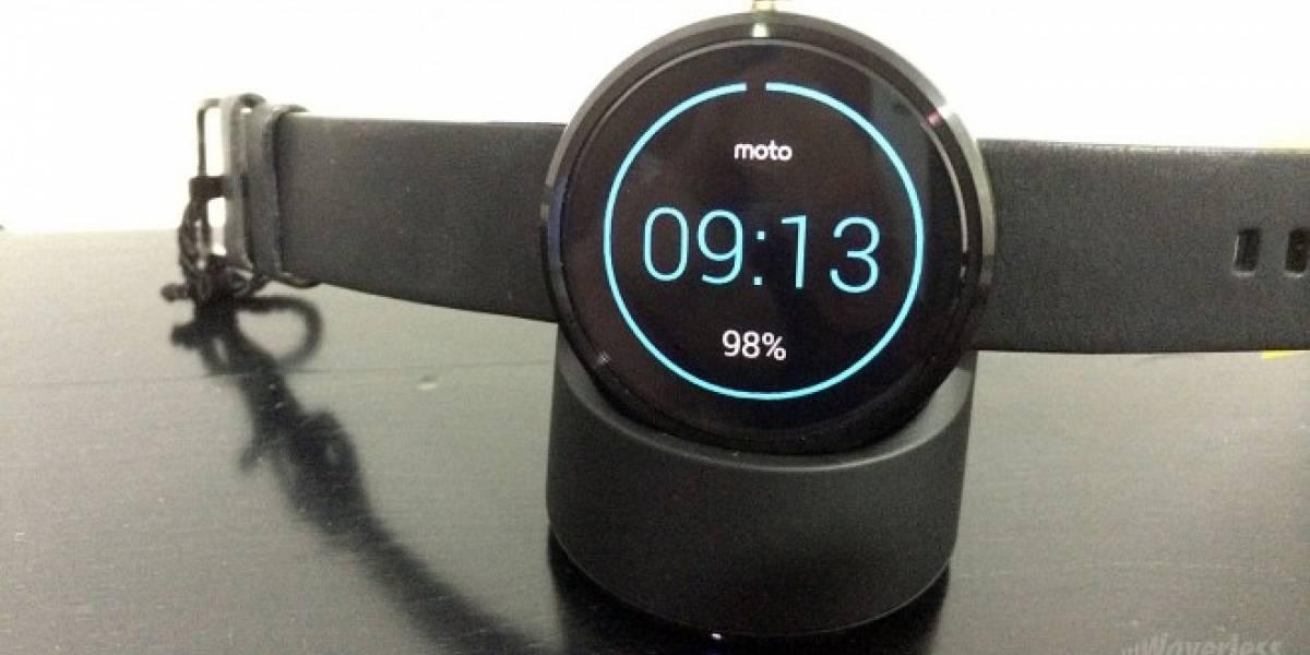 Moto 360 se agota a minutos de su presentación retrasando entregas hasta el 19 de septiembre