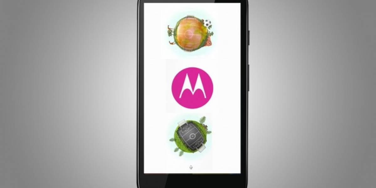 Motorola se pone a tono con el Mundial y actualiza su animación de inicio