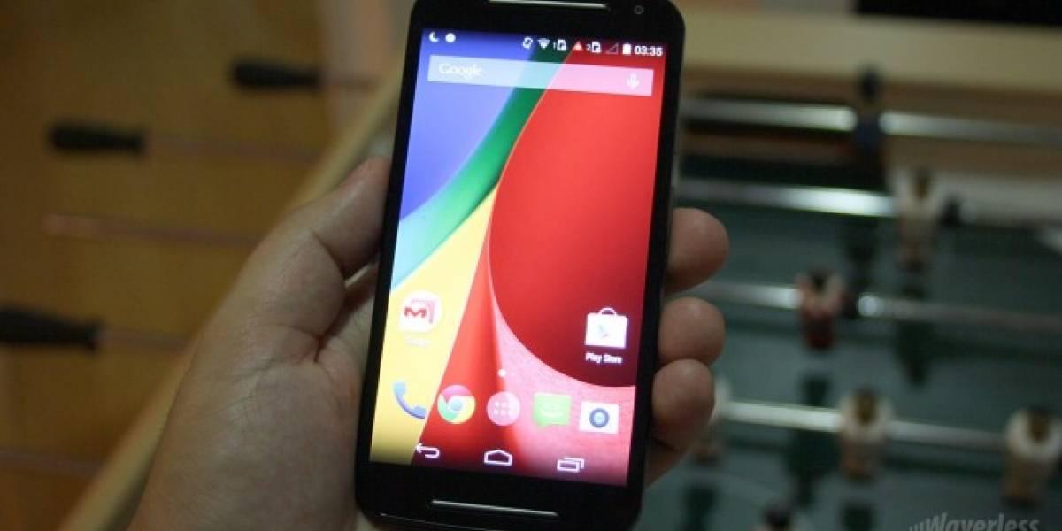 Publican foto de Android 5.1 corriendo en el Moto G Segunda Generación