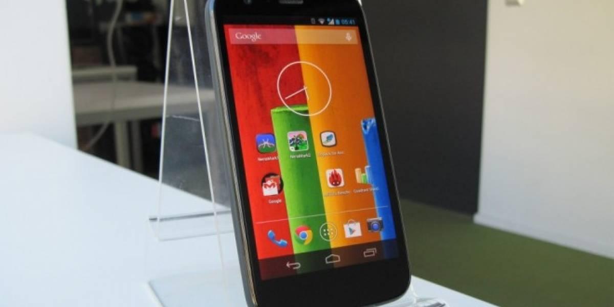 Android 4.4.4 para el Motorola Moto G a partir de la próxima semana en Chile