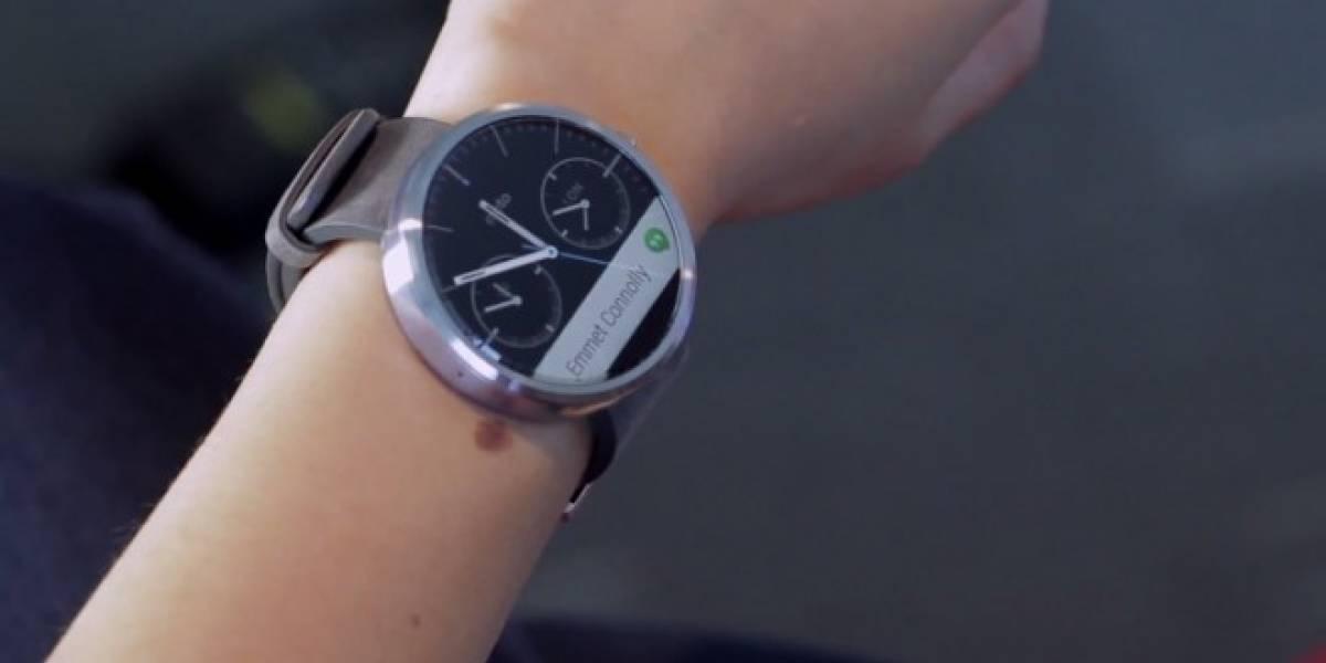 Motorola nos muestra al Moto 360 en dos minutos